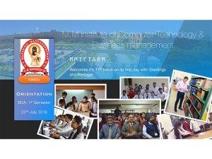 Orientation Prog of BCA-1st