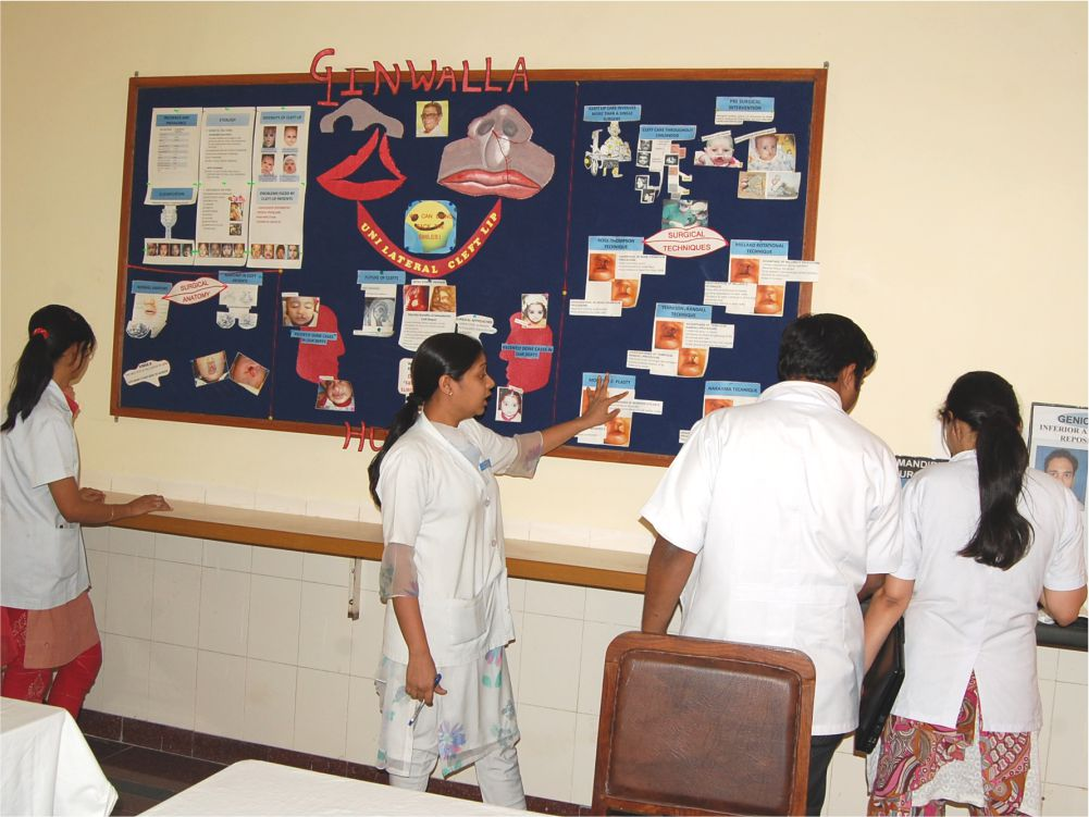 Basic Skill Lab - Students learn basic surgical skills like suturing, wiring etc.