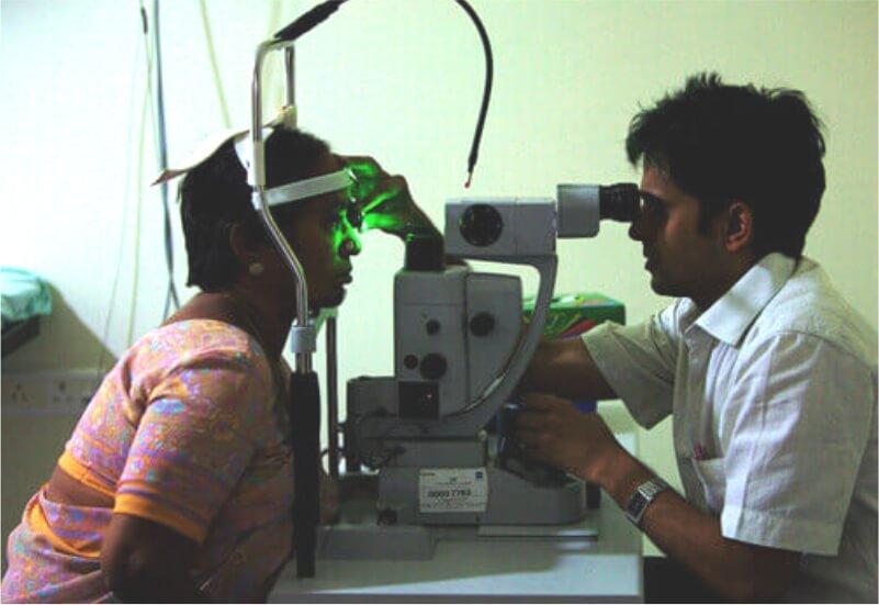 B.Optom - Greem Lazer for Retina
