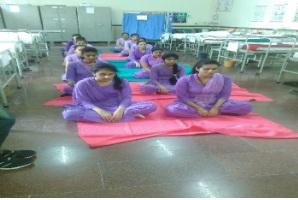 Yoga Session Under Prime Minister Kaushal Vikas Yojna
