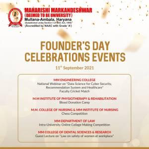 Founder's Day Celebration