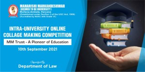 Intra-University Online Collage Making Competition