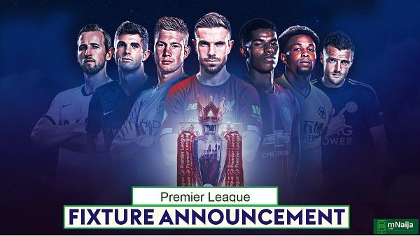 Premier League 2020/21 fixture