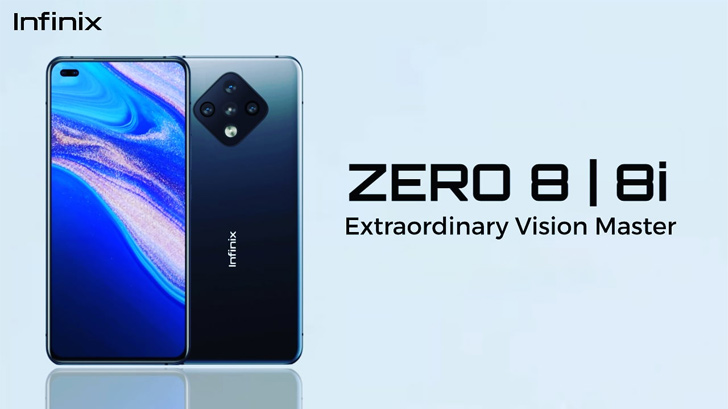 Infinix Zero 8 and 8i launched