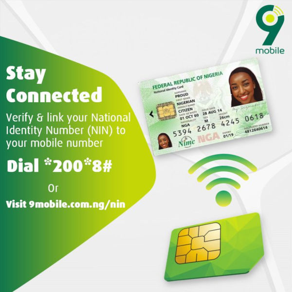 Link your 9mobile number to your NIN