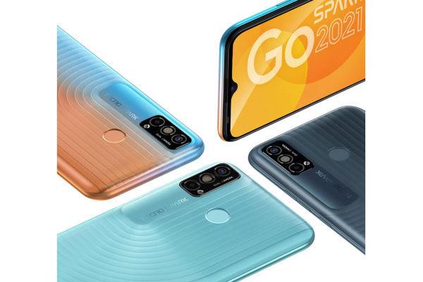 Tecno Spark Go 2021 in colors