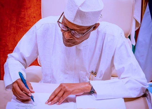 Buhari signed the Petroleum Industry Bill 2021 into law