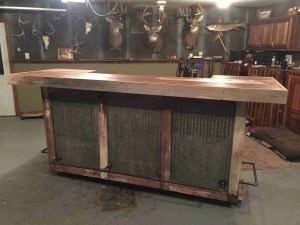 Minnesota Raw Barnwood Bar