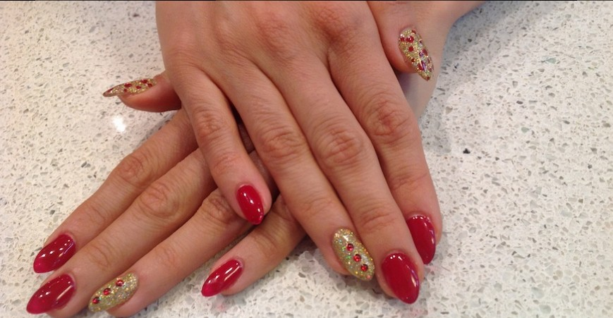 shellac and artificial nails calgary