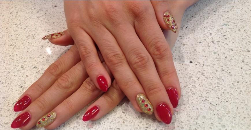shellac and artificial nails calgary