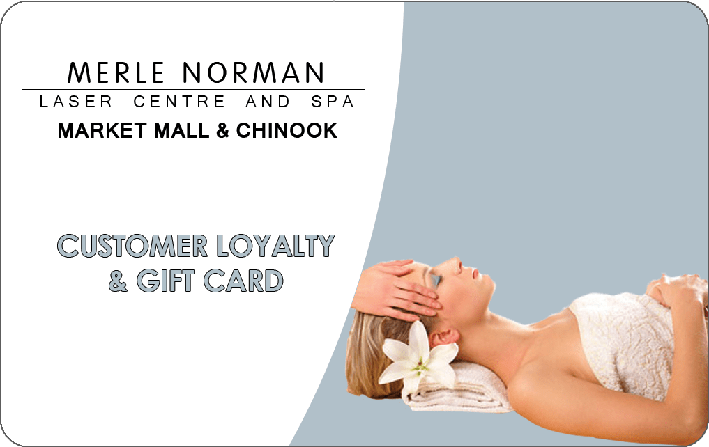 spa gift certificate Calgary for Merle Norman