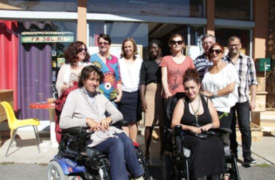À Toulouse, soutien et solidarité à la Maison des chômeurs de la Fabrique Solidaire