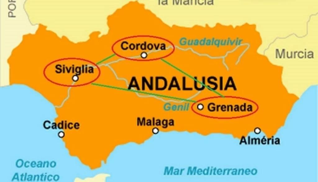 Un viaggio in Andalusia alla scoperta di arte e cultura