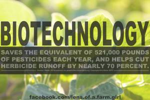 Biotechnology is safe