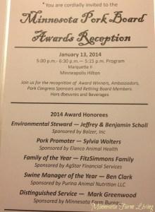 Minnesota Pork Board Awards