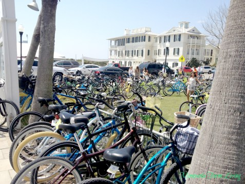 Bicycles at Seaside Florida