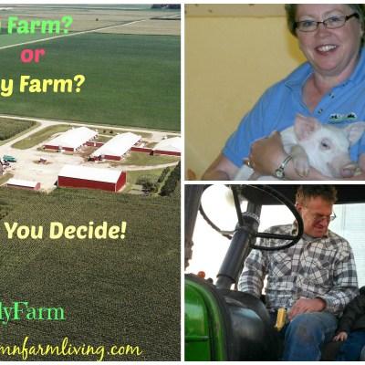Factory Farm Or Family Farm, You Decide.