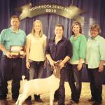 "MN Agriculture – Sara Larson ""Shows"" Devotion To Her Goats"