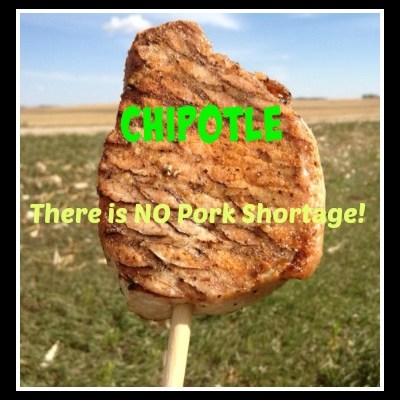 Chipotle: There Is NO Pork Shortage!