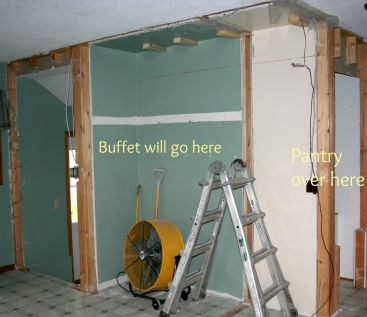 Buffet and pantry