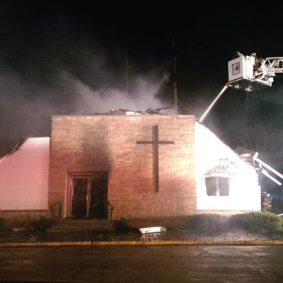 With A Church Fire Destruction Comes A Time of Rebirth