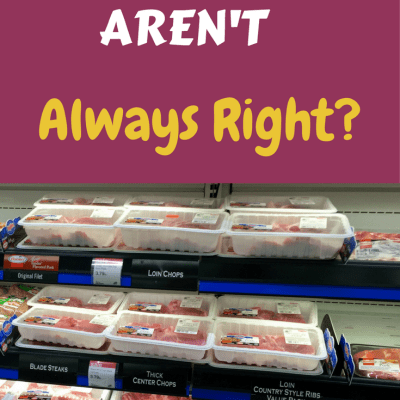 What If Consumers AREN'T Always Right?