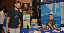 Concordia Booth at the Minnesota Field Trip Expo