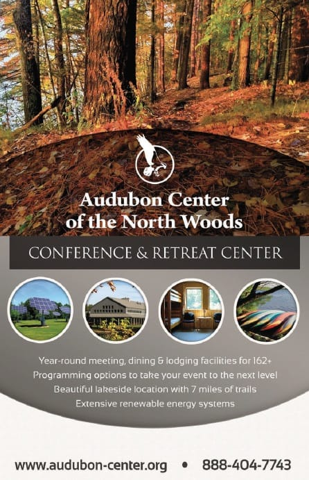 Audubon Center for the North Woods Conference Brochure