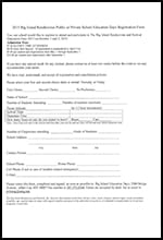 Education Day Public & Private Registration Form