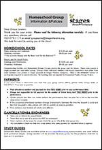 2017 Homeschool Group Info