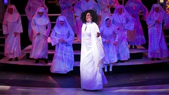 sister act at chanhassend dinner theatre