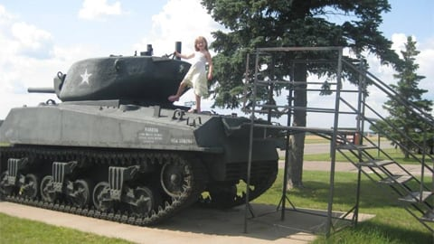 LIttle falls army tank tours