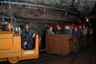 Underground Mine Train Tour