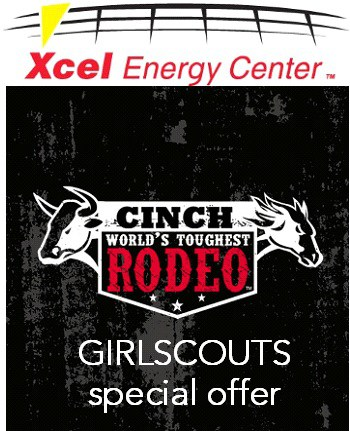 Xcel Cinch Rodeo GirlScouts offer