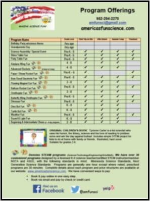 General Program List