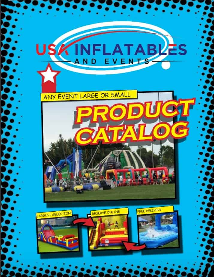USA Inflatables Product Catalog