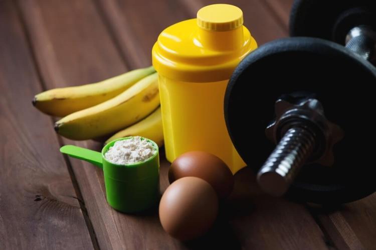 Eieren en fitness