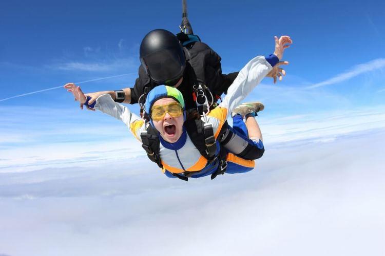 Parachutespringen Nederland - tandemsprong