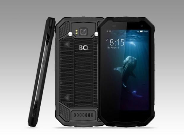 BQ-5033 Shark: недорогой защищенный смартфон на Android 7.0 Nougat