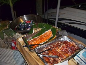 Ribs, Salmon and soda's
