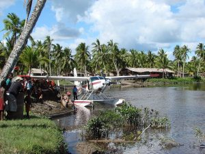 MAF flies sick four-year-old boy from distant village to hospital
