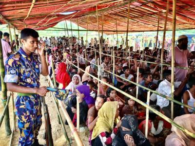 Rohingya refugee disaster marks two years