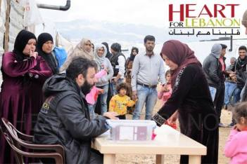 Heart for Lebanon meets needs of poverty stricken refugees