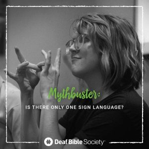 Beyond Deaf Awareness Month: supporting Deaf ministry year-round