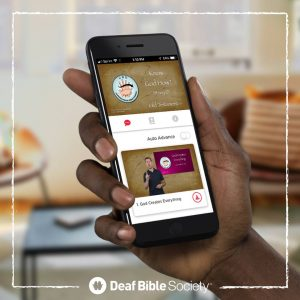 Deaf Bible Society empowers signal language Bible translation