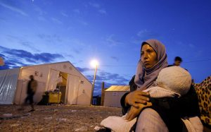 Is it secure for Syrian refugees to move house?