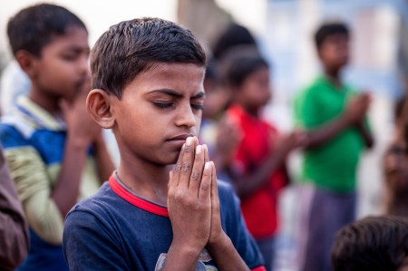 Send Two Children in India to Mission India's 10-Day Children's Bible Club for $1