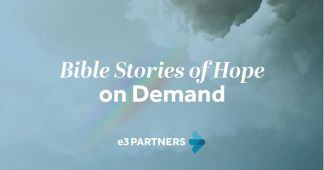 E3 Partners Releases New Video Bible Study Series