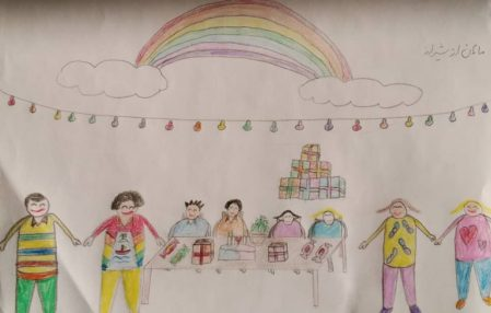 SAT-7 Asks Kids in Iran to Draw a Hopeful Future Post-Coronavirus for Universal Children's Day