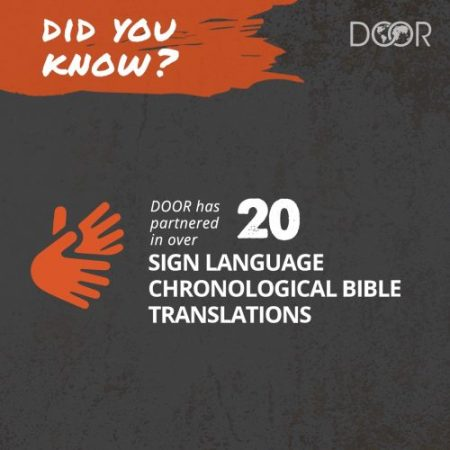 New DOOR International Project will Introduce Middle East Deaf People to God